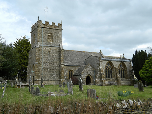 Glanvilles Wootton Church