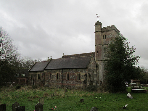 Hinton Martell Church